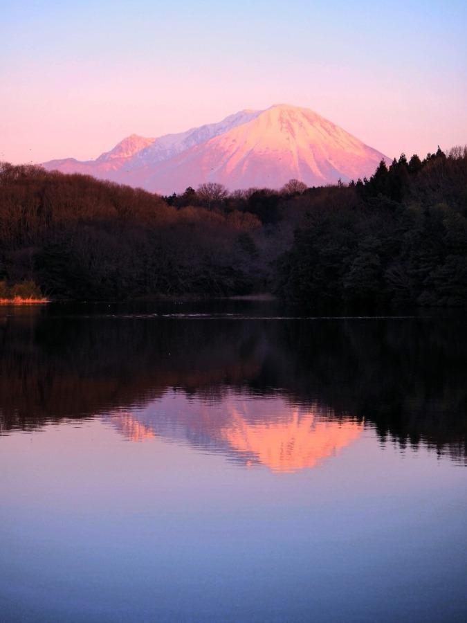 静かなる伯耆富士