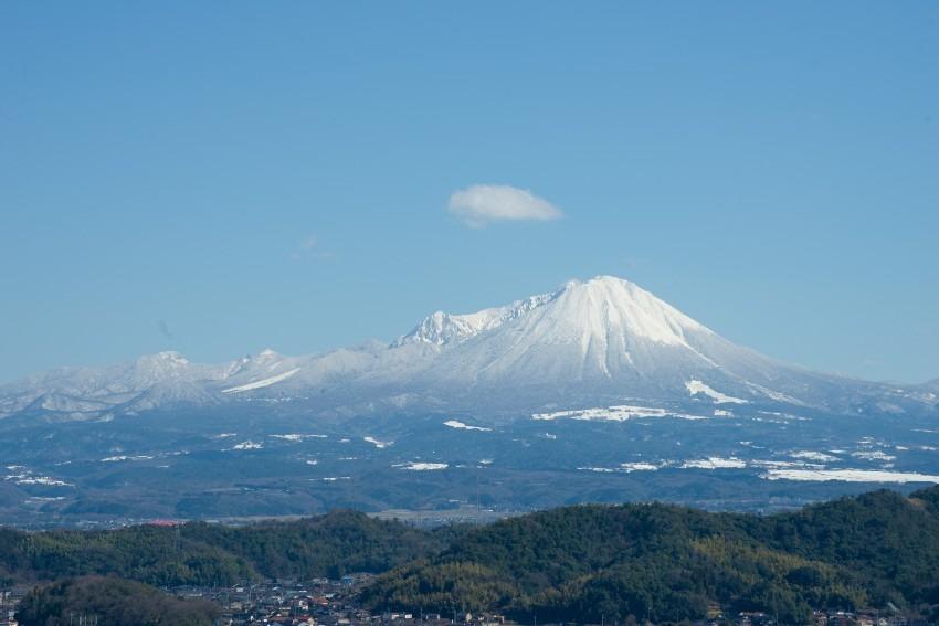 雪の伯耆富士大山
