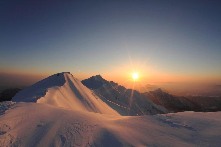 山頂からの始まり