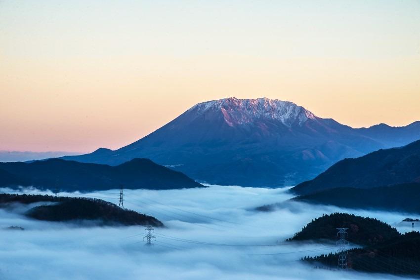 明智峠からの大山